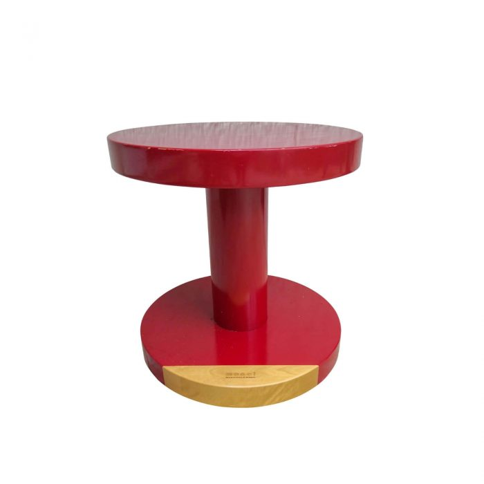 Two Design Lovers Moooi red side table