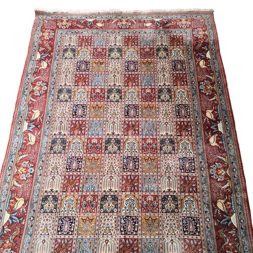Two Design Lovers Iranian Khesti rug