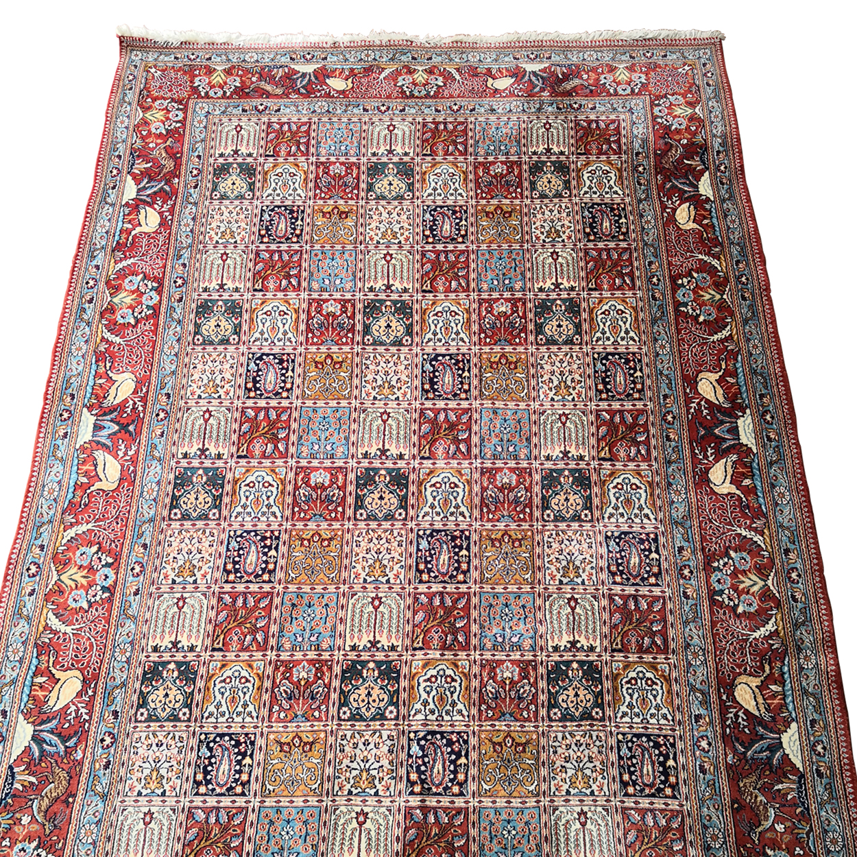 Two Design Lovers Iranian Khesti rug