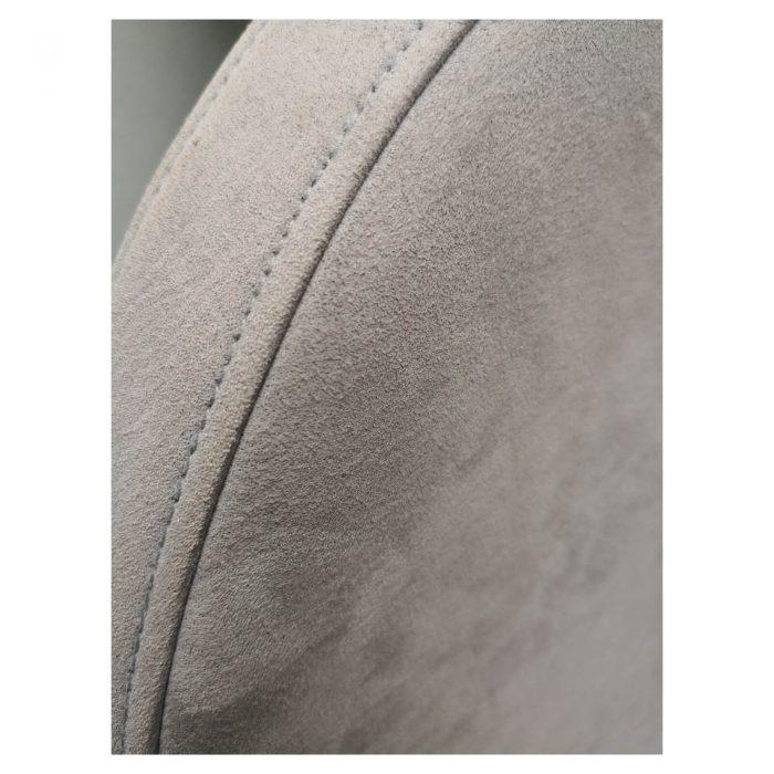 Two Design Lovers Bo Concept Veneto grey occasional swivel chair edge