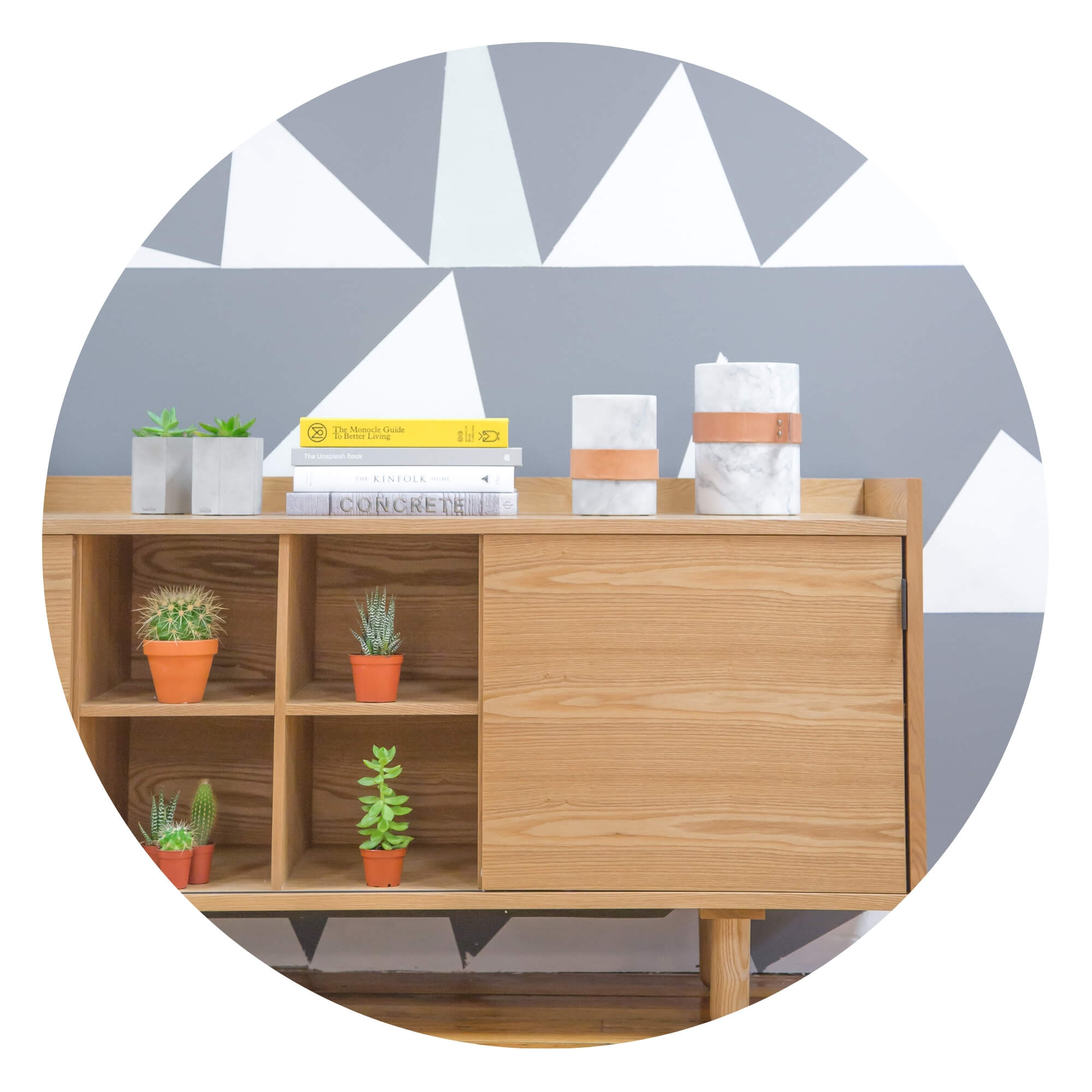 Two Design Lovers storage Category circle