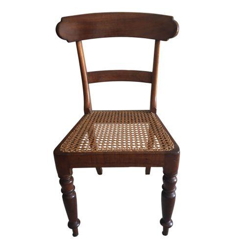 Two-design-lovers-Australian-colonial-cedar-rail-back-chair-front
