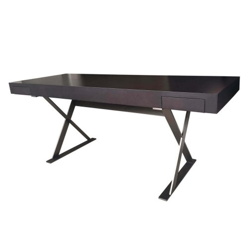 B&B Italia dark wood desk