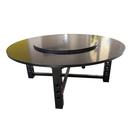 Two Design Lovers Cassina round dining table Charles Rennie Mackintosh