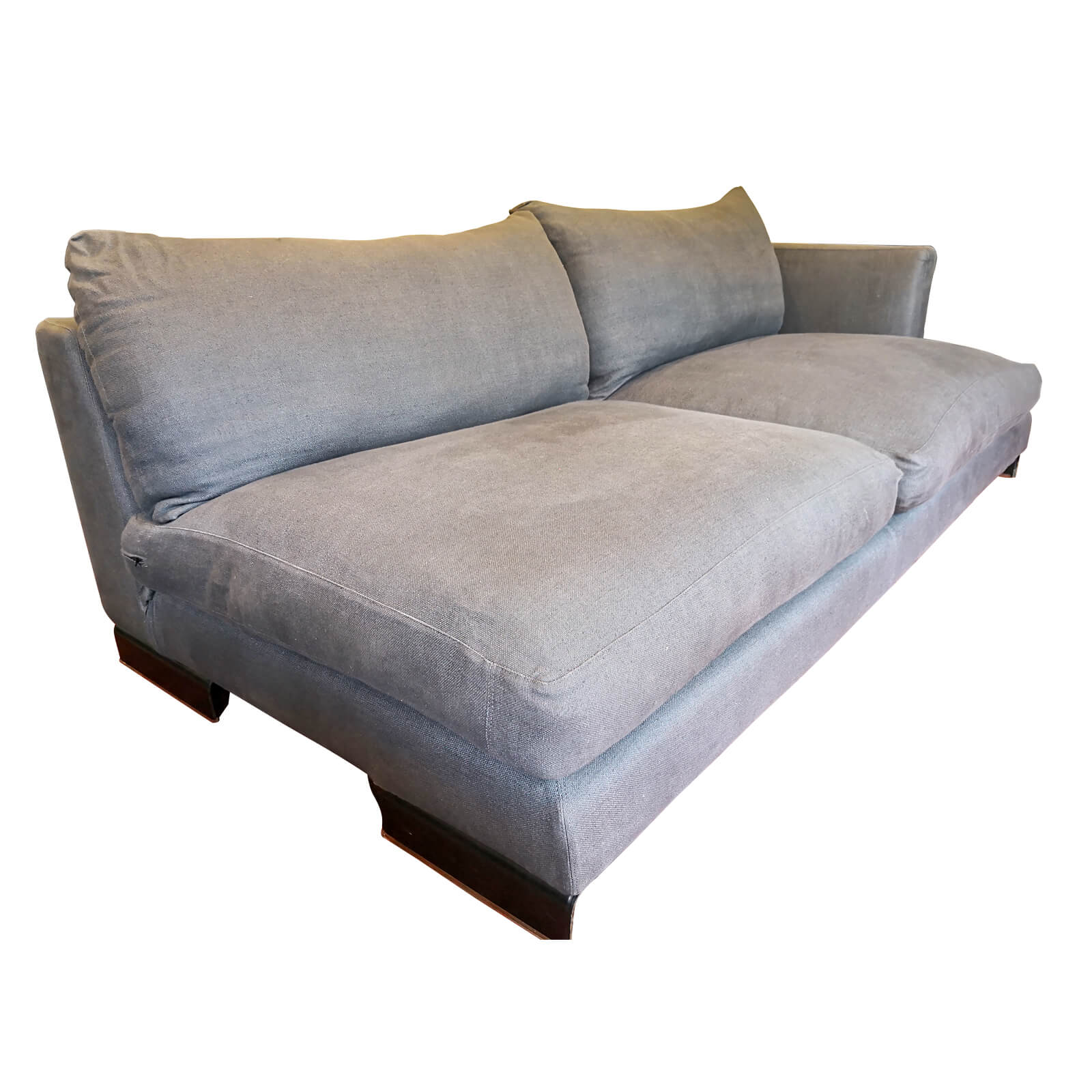 Two Design Lovers Flexform sofa right chaise side angle