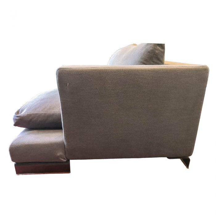 Two Design Lovers Flexform sofa right chaise side