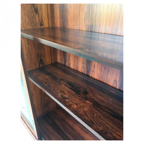 Great Dane rosewood cabinet interior