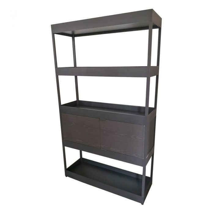 Two Design Lovers Hay New Order Bookshelf side view