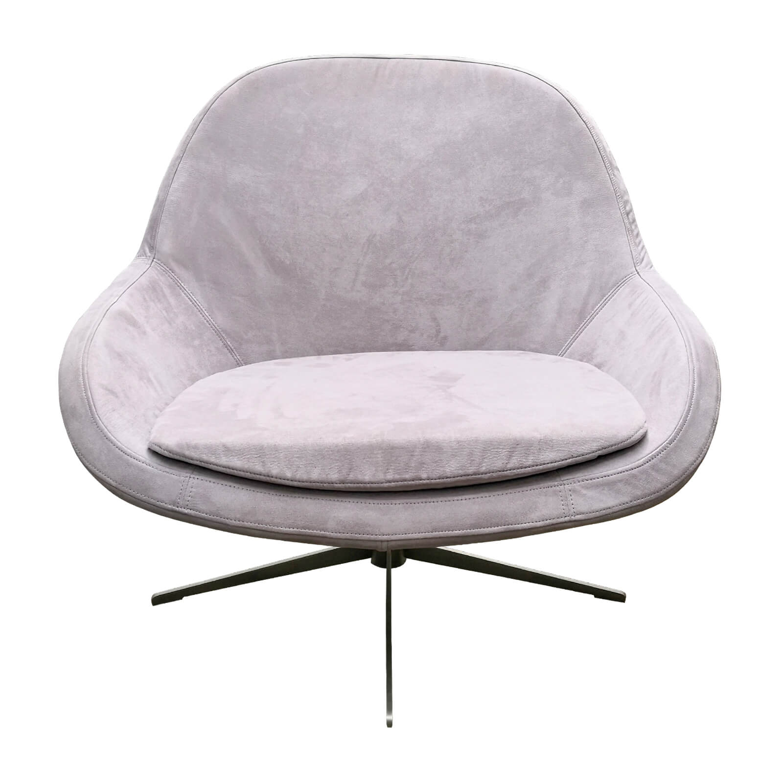 Two Design Lovers Bo Concept Veneto grey occasional swivel chair