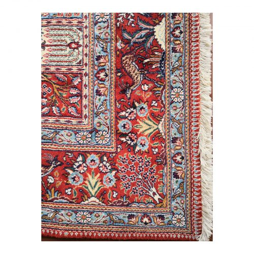 Two Design Lovers Iranian Khesti rug corner
