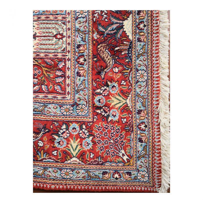 Two Design Lovers Iranian Khesti rug corner