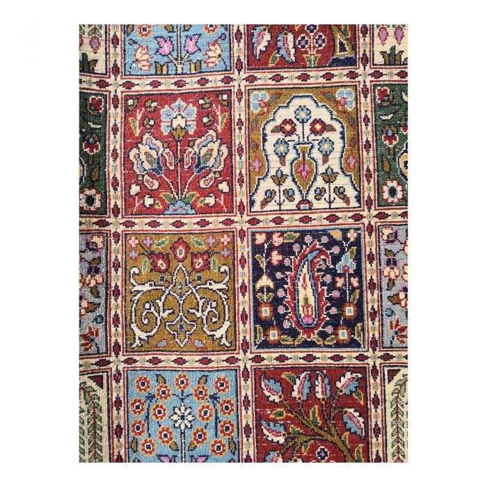 Two Design Lovers Iranian Khesti rug close up