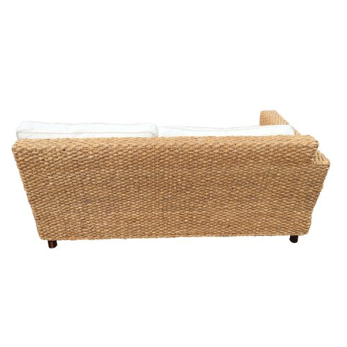 Two Design Lovers Rattan 2 piece L shaped sofa-back