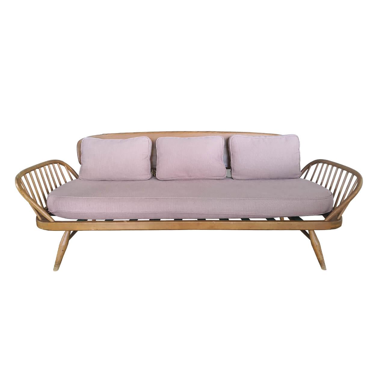 Two Design Lovers Original Ercol Studio Sofa front