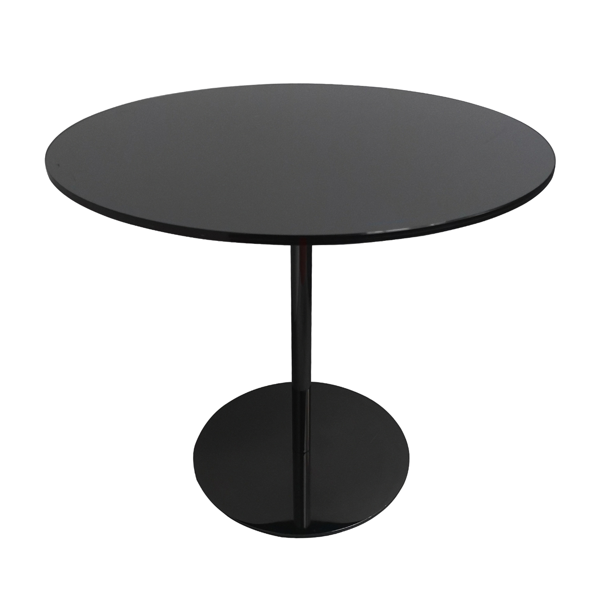 Two Design Lovers Minotti smoked glass side table