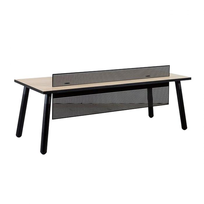 Two Design Lovers Koskela PBS black reception desk back