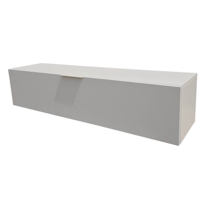 Two Design Lovers white drop front storage