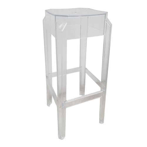 Two Design Lovers Bo Concept perspex bar stools