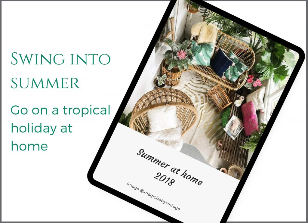Two Design Lovers homepage Edit right swing into summer