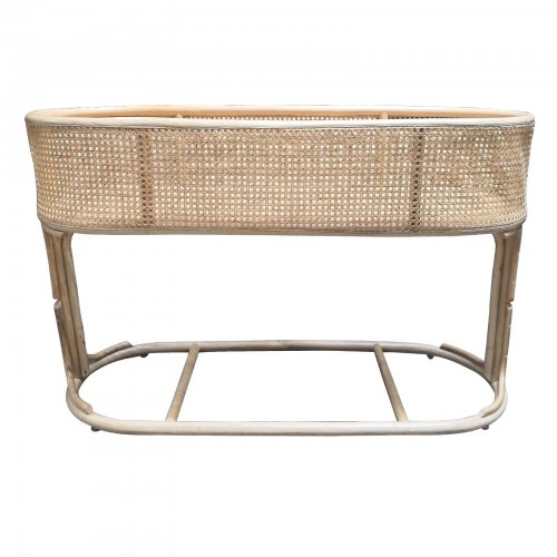 Two Design Lovers cane plant stand front