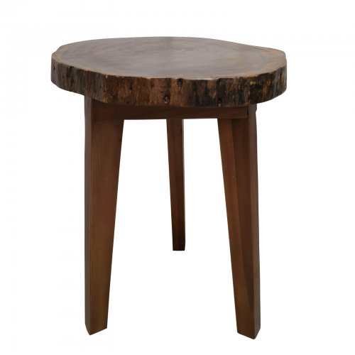 Two Design Lovers live edge side table