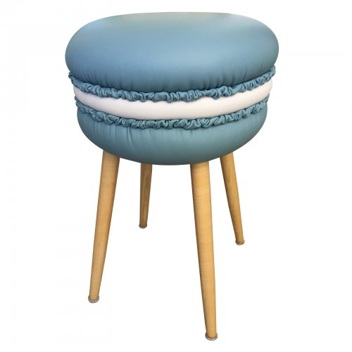 Two Design Lovers Makastool blue