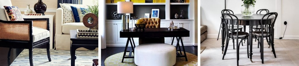 Two Design Lovers the edit dark wood furniture product category