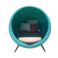 Two Design Lovers Globe Day Bed Front 2