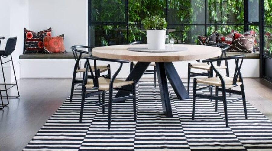 Two Design Lovers Dining Room Rugs Blog, The Armidale House by Wonder, Design Daily close up