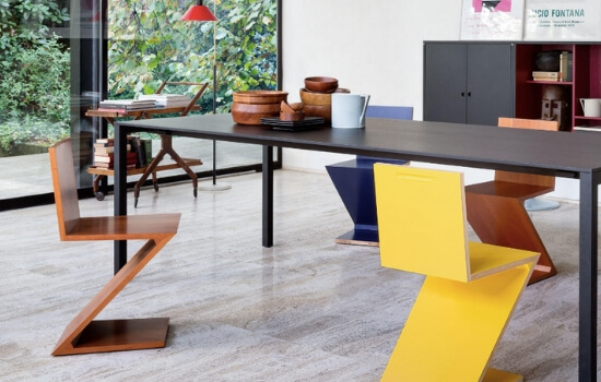 Two Design Lovers Cassina Zig Zag chair