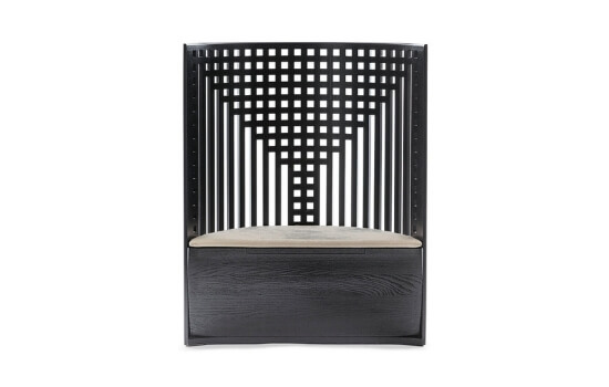 Two Design Lovers Cassina 312 Willow 1 Armchair by Charles Rennie Mackintosh