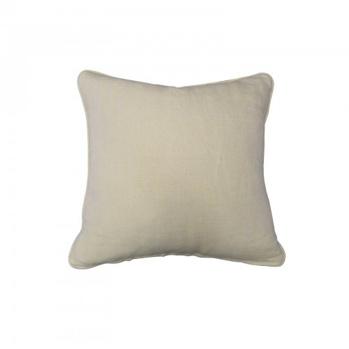 Two Design Lovers yellow linen mix cushion