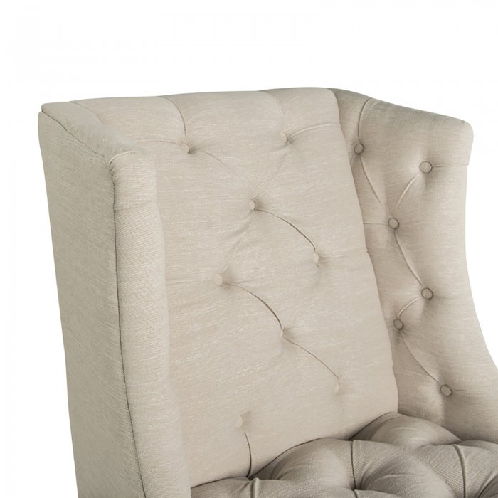 Two Design Lovers Mayvn Interiors Matisse Armchair Papyrus detail