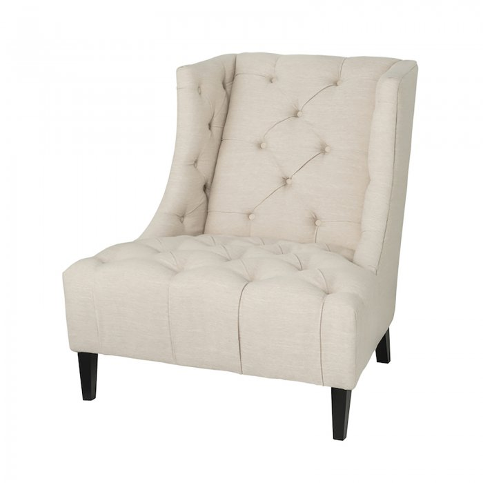 Two Design Lovers Mayvn Interiors Matisse Armchair Papyrus side