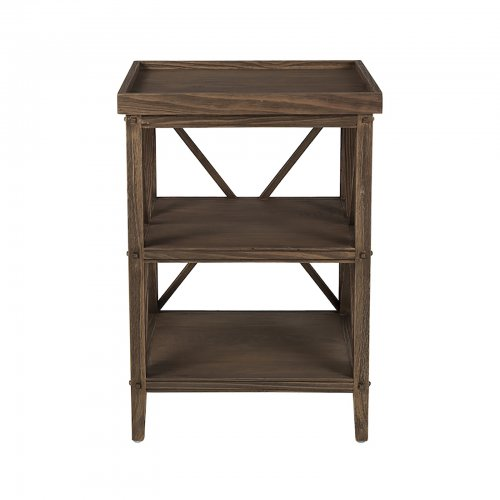 Two Design Lovers Mayvn Interiors bedside table timber front