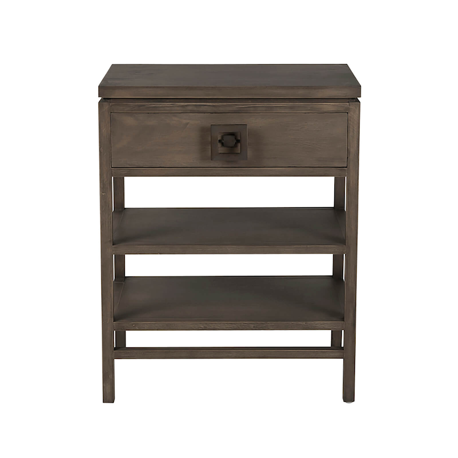 Two Design Lovers Mayvn Interiors Paxton bedside table light single drawer front