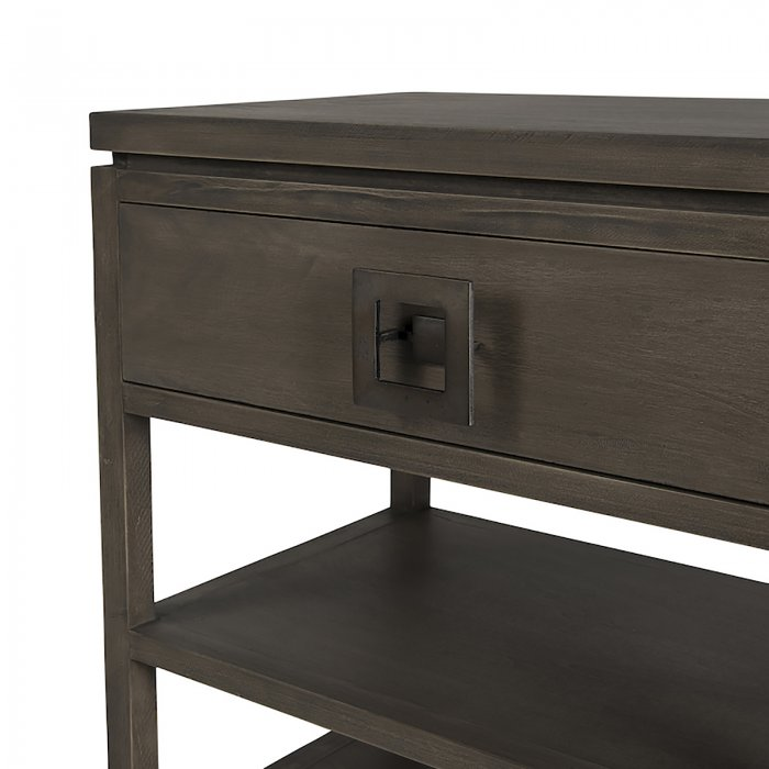 Two Design Lovers Mayvn Interiors Paxton bedside table light single drawer detail