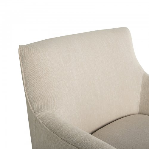 Two Design Lovers Mayvn Interiors Preston Armchair Papyrus side