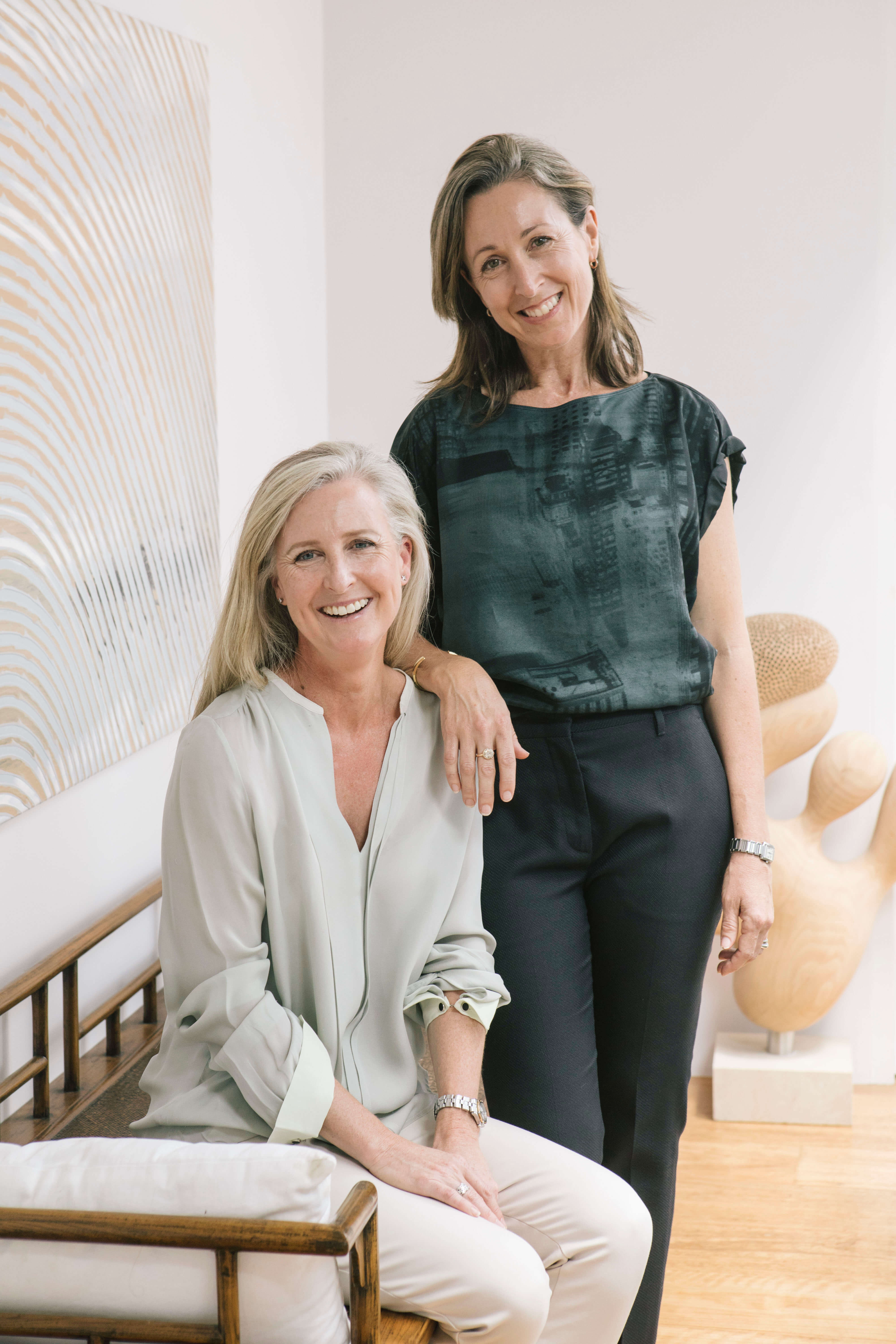 Two Design Lovers About Us photo of Deb Achhorner and Emilia Harrison