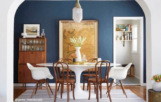 Two Design Lovers tulip table and eames chairs home page image mobile version