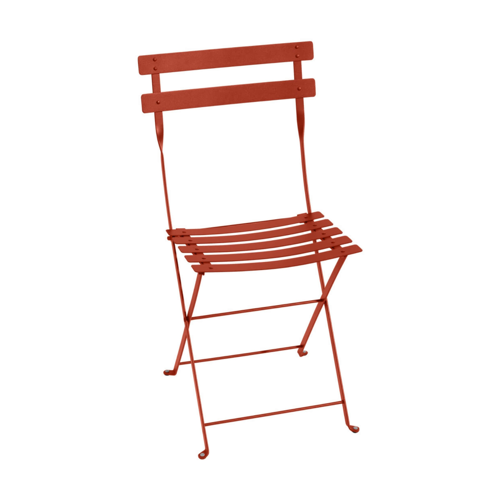 Two Design Lovers Fermob Bistro chair in paprika