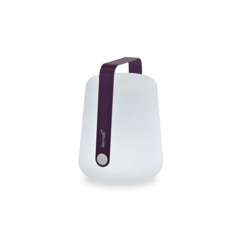 Two Design Lovers Fermob H38 Balad outdoor lamp in aubergine