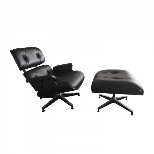 Two Design Lovers Herman Miller Eames lounge chair ottoman asia limited edition with ottoman