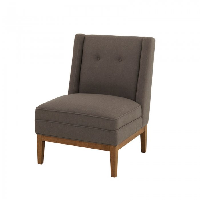 Two Design Lovers Renton cement armchair side