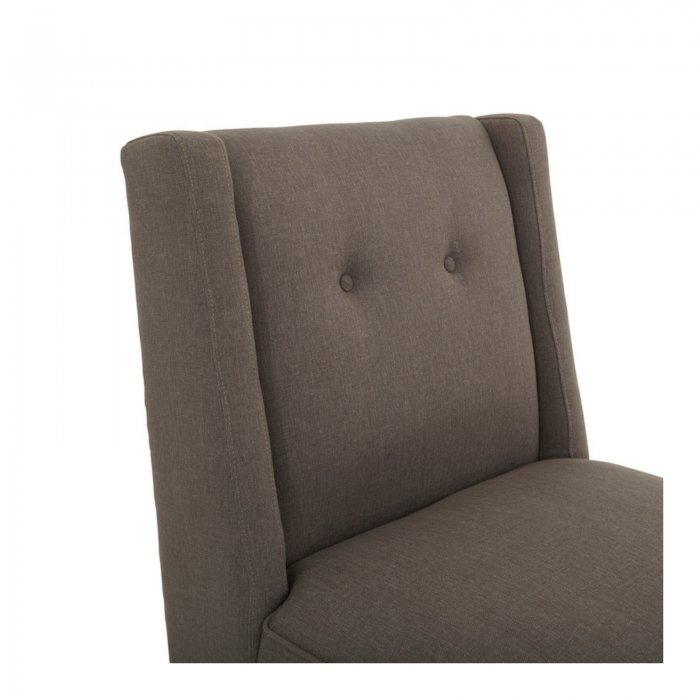 Two Design Lovers Renton cement armchair close up