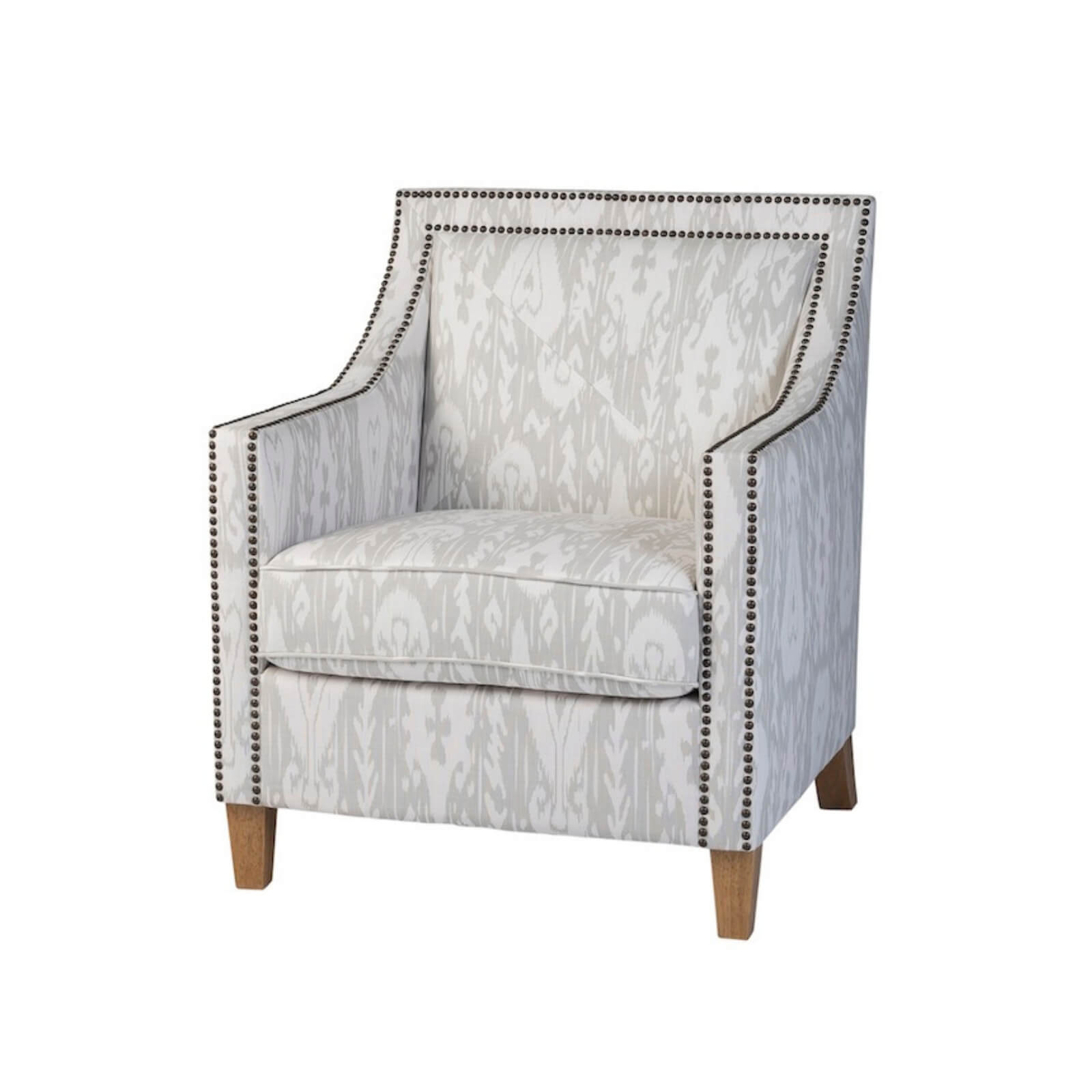 Two Design Lovers Liberty armchair kashgar ghost bronze side