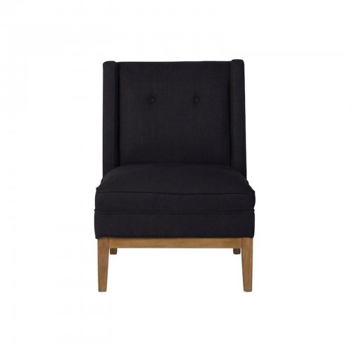 Two Design Lovers Renton Ink armchair front