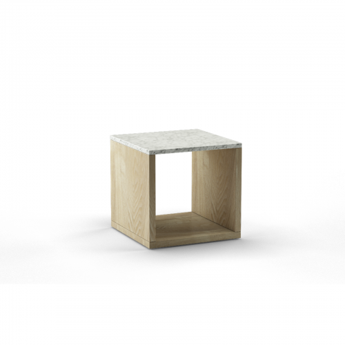 Two Design Lovers Reddie marble side table