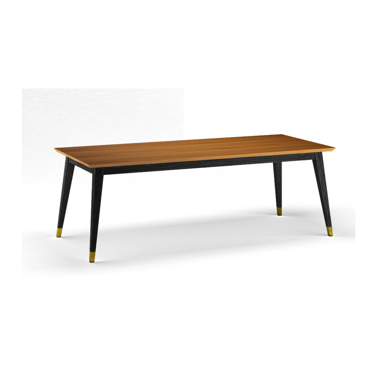 Two Design Lovers Reddie furniture vinny dining table angle