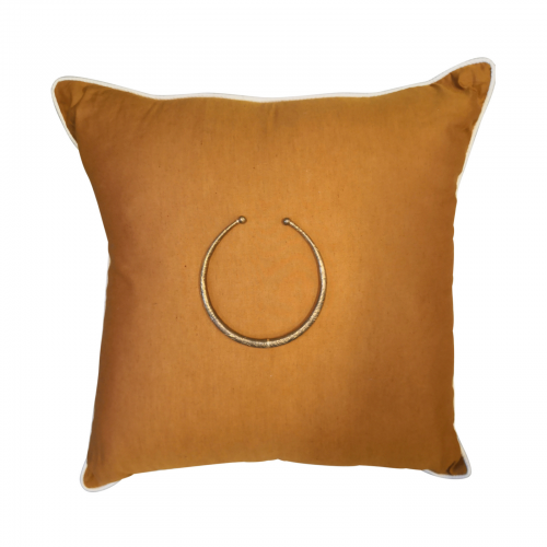 Two Design Lovers Bandhini amulet cushion
